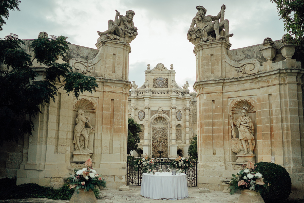 Wedding venue in Malta