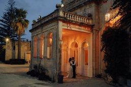 Evening Wedding portrait in Malta
