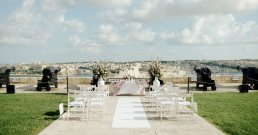 Saluting Battery Wedding Photography, Valletta