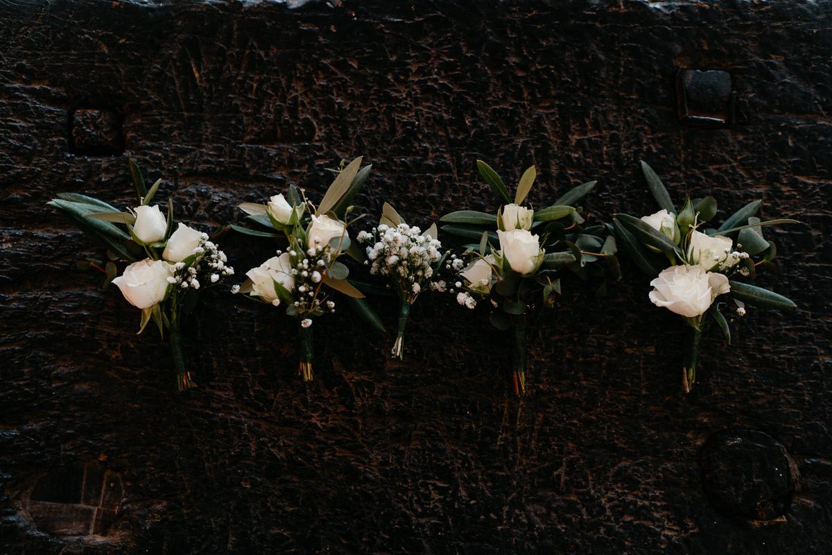 wedding boutonnieres Malaga