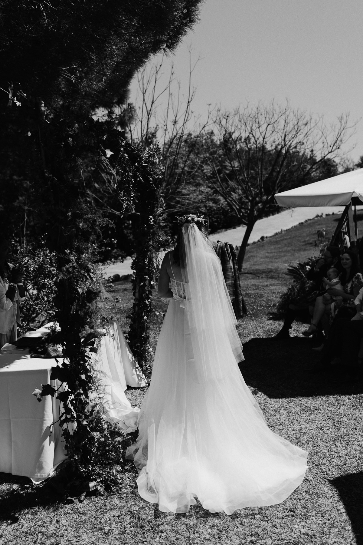 wedding Ceremony at Hacienda San Jose Mijas
