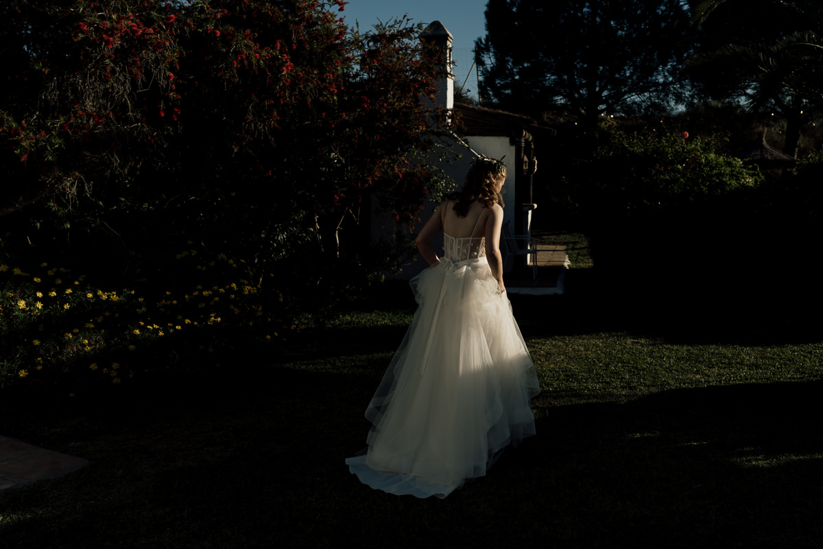 Bride in Malaga