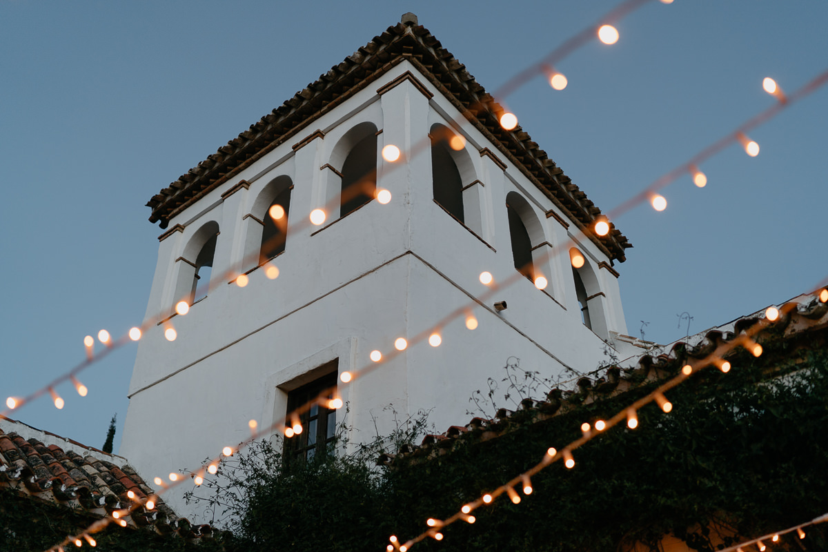 Hacienda San Jose, Mijas at night