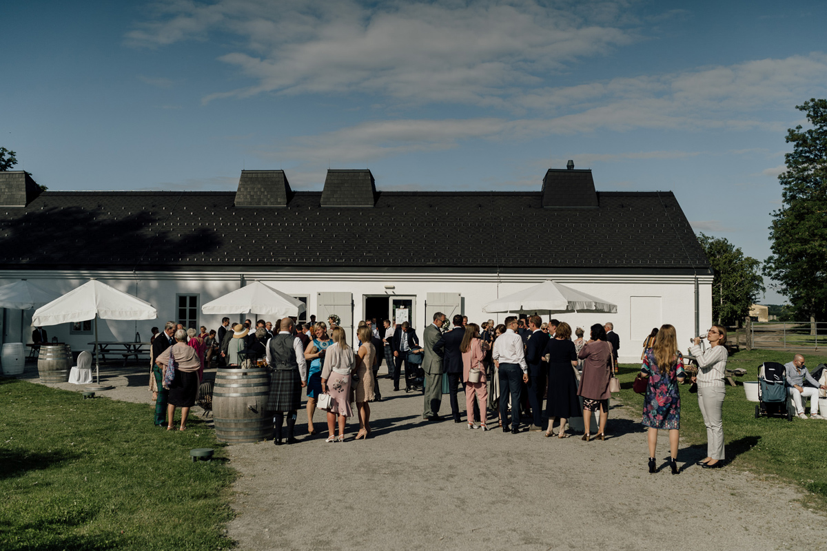 Kalandahaus Esterhazy Winery wedding reception