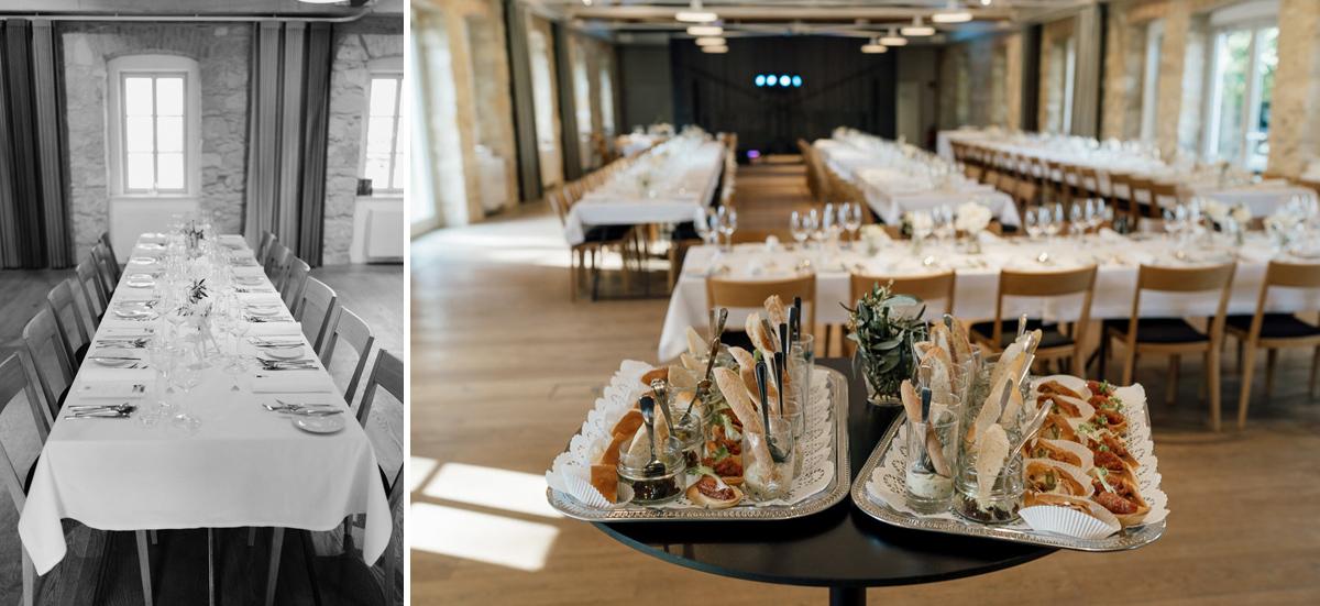 Kalandahaus wedding dinner reception