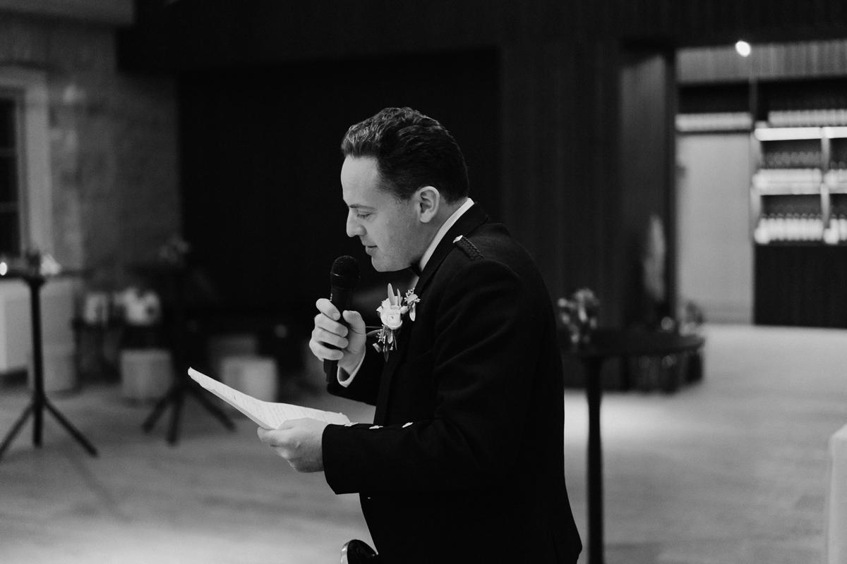 speech at wedding reception