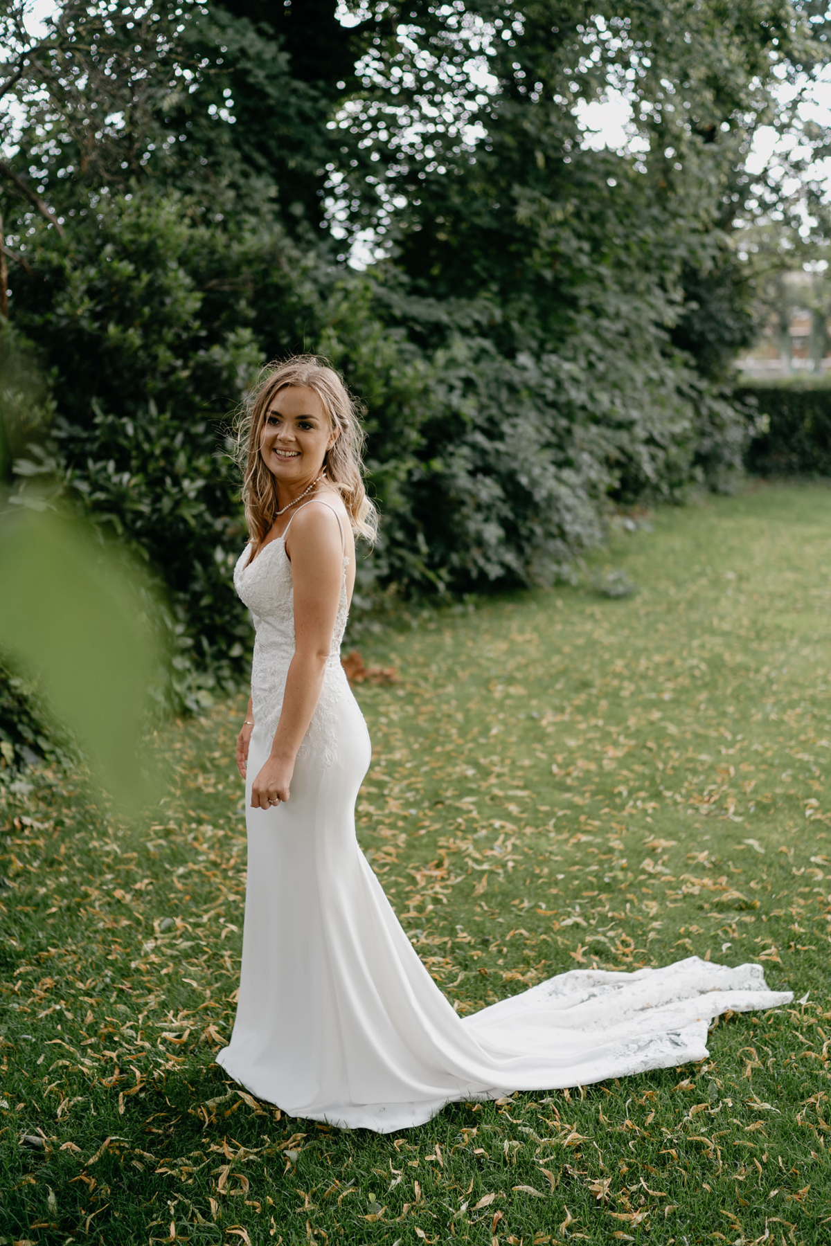bridal portrait at at the Loughborough registry Office