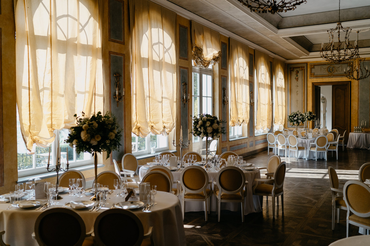 Hotel Chateau Bela wedding Ballroom