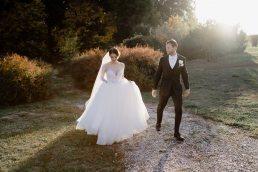 Wedding couple portraits at Chateau Bela Slovakia