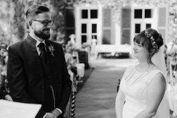 Wedding ceremony at Schloss Ernegg