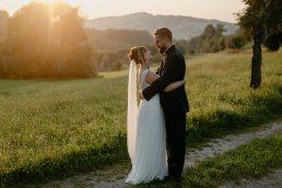 wedding couple portrait austrian Alps