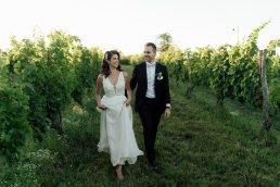 Etyek esküvői kreatív portré szőlősben