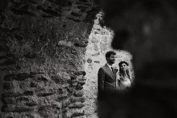 Mikro esküvő ceremónia Szent Balázs templomrom, Szentantalfa