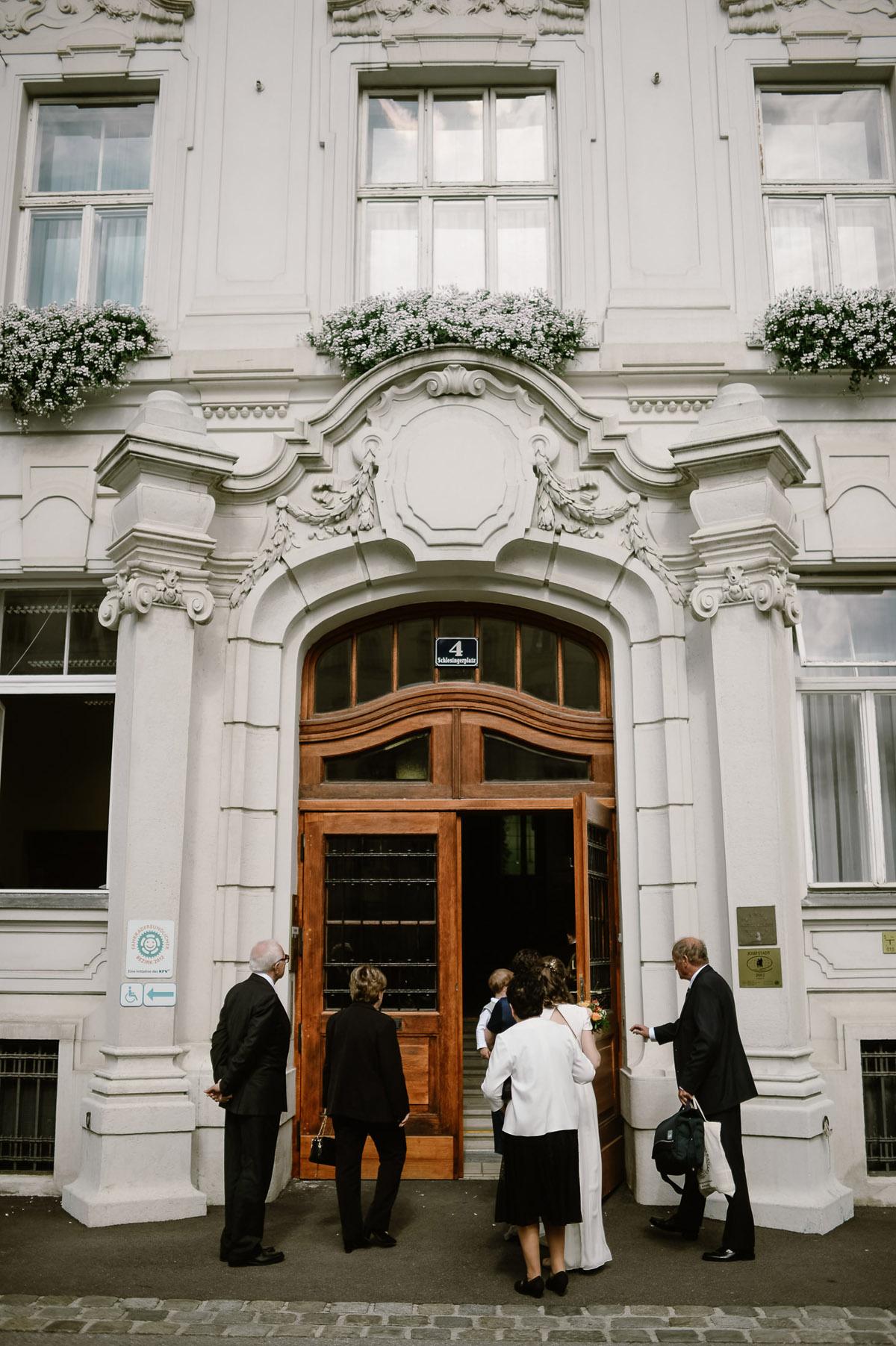 Standesamt innere Stadt Vienna Micro wedding
