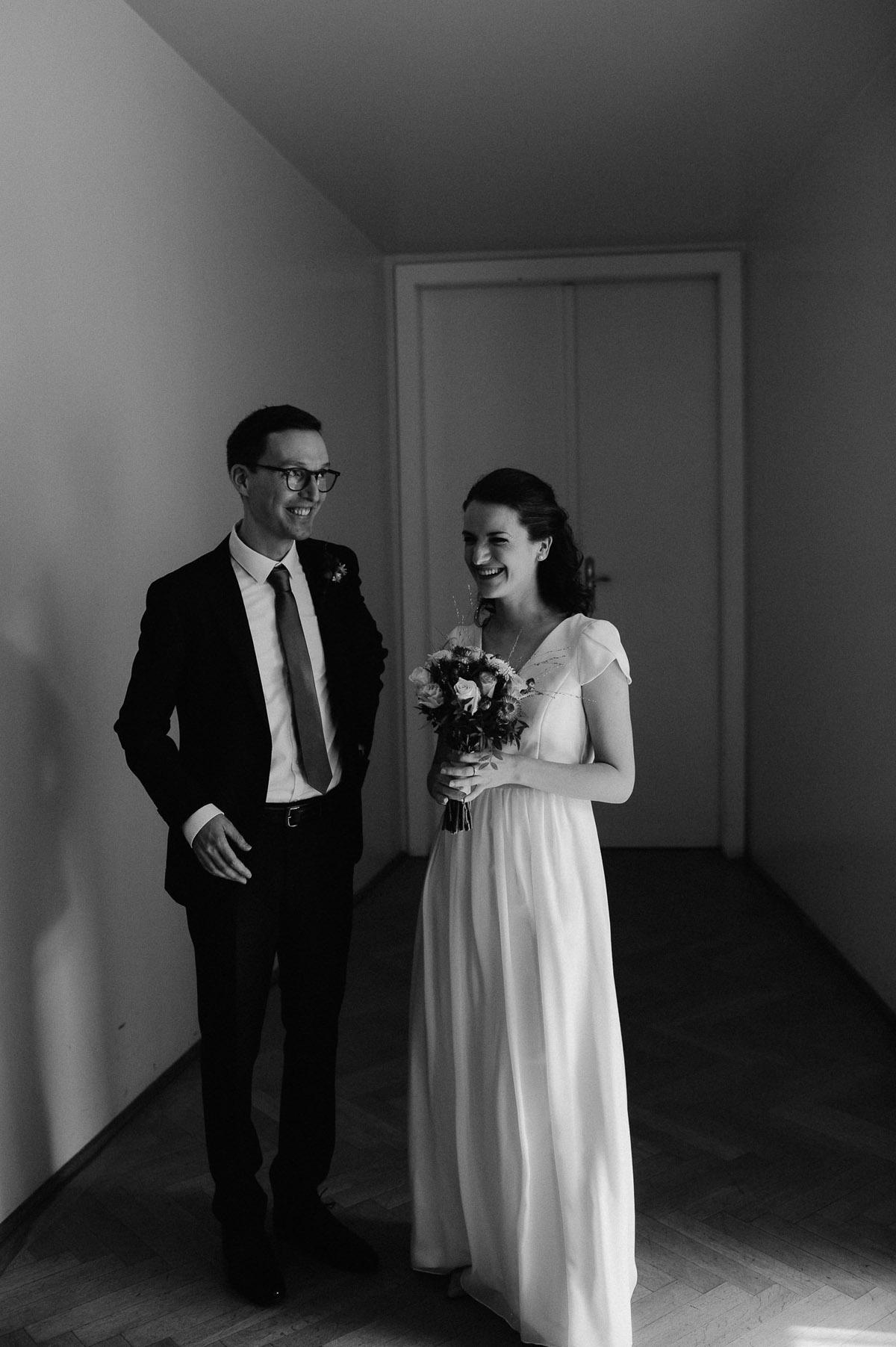 Wedding couple in Vienna