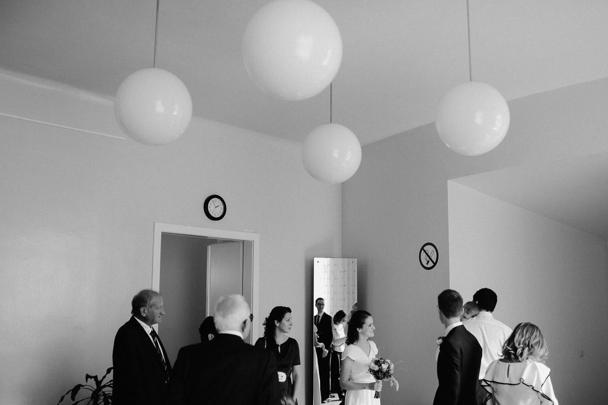 Wedding ceremony Standesamt innere Stadt