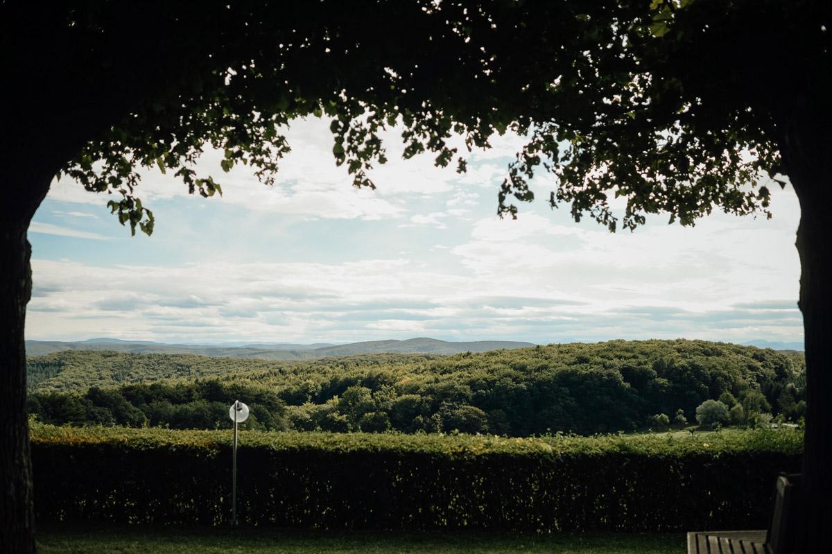 view from Berghotel Tulbingerkogel wedding