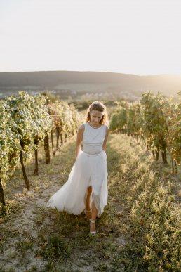 kreatív esküvői fotó Balatoni szőlősben