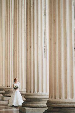 menyasszon nemzeti múzeumnál