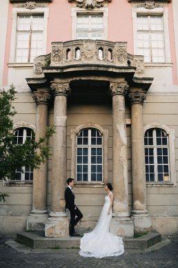 kreatív esküvői fotózás helyszínek Kassai Múzeum