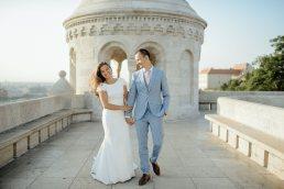 Kreatív esküvői fotózás helyszín Budapest