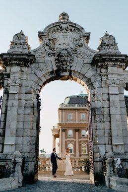 Kreatív esküvői fotózás helyszín Budapest Vár