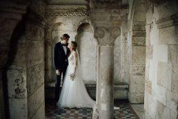 Kreatív esküvői fotózás Budapest Halászbástya